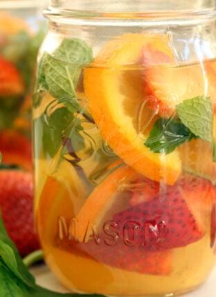 Fruit Infused Turmeric Tea