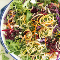 This Everyday Detox Salad is loaded with raw wholesome ingredients to strengthen your immune system