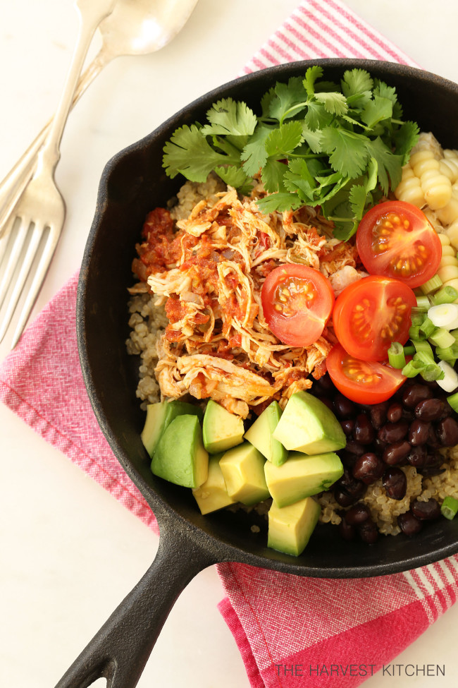 Mexican Style Shredded Chicken The Harvest Kitchen