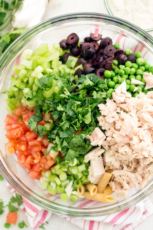 The Best Tuna Pasta Salad