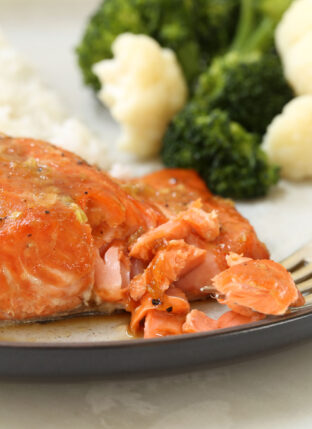 Orange Teriyaki Glazed Salmon