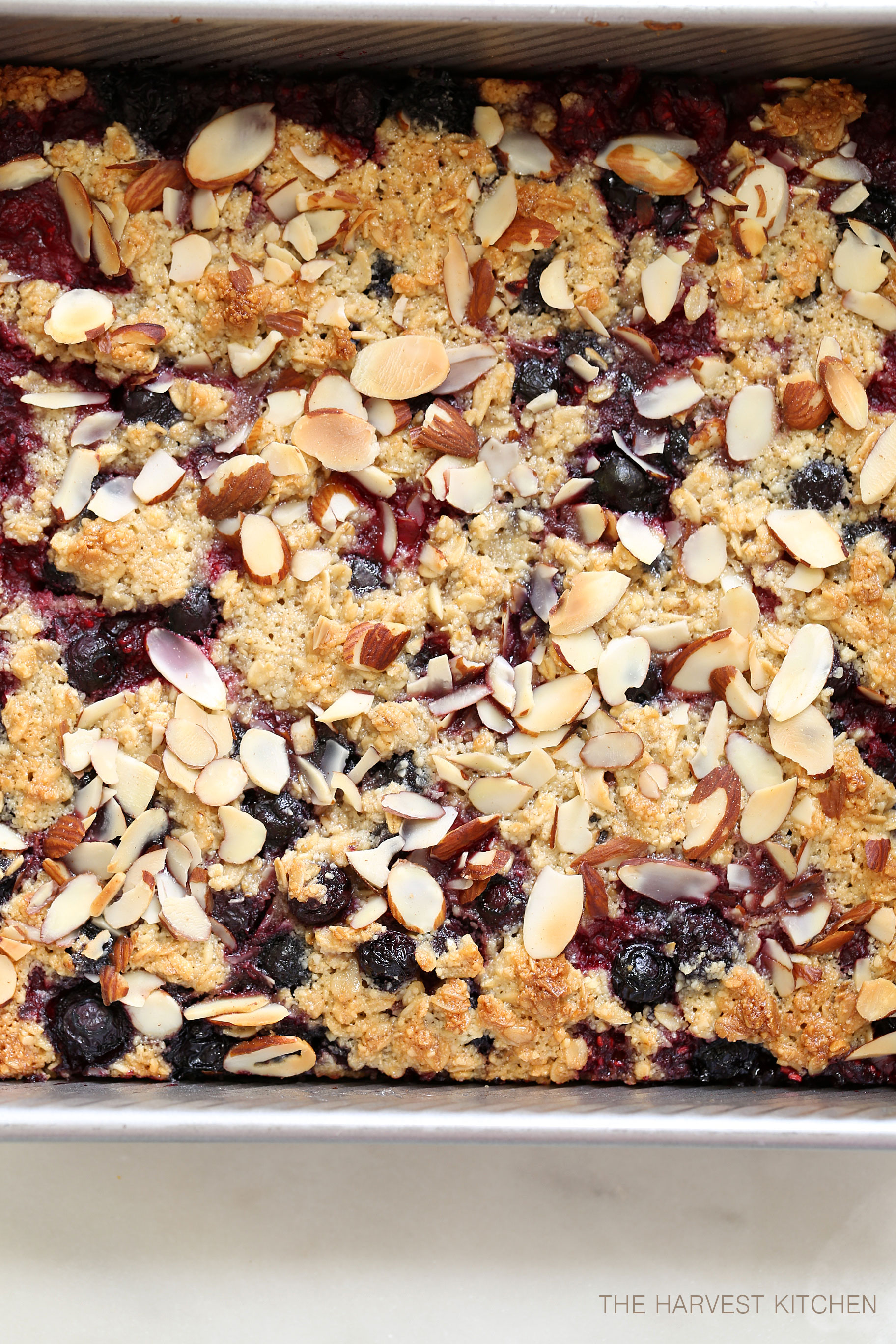 These Healthy Berry Oatmeal Crumb Bars are loaded with berries and the crumb topping is delicately crispy and completely addicting