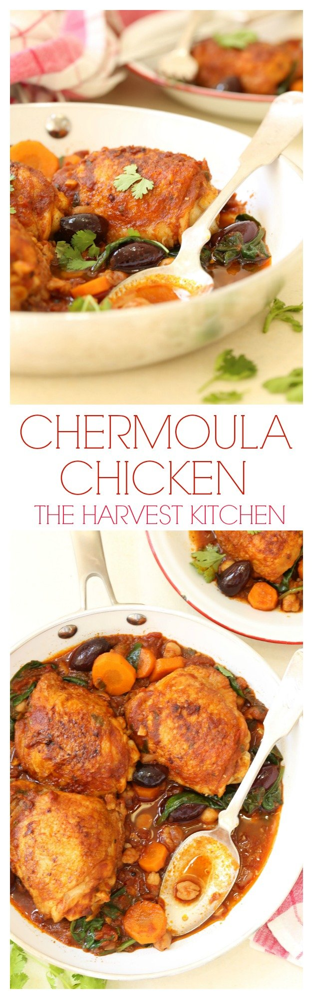 This Chicken Chermoula (also called Moroccan chicken) is a blend of chicken and vegetables simmered in an amazing exotic tasting sauce