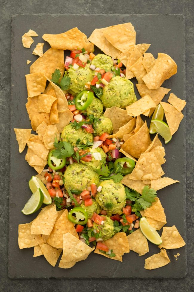 Homemade Guacamole recipe uses just 5 ingredients and comes together in a snap!