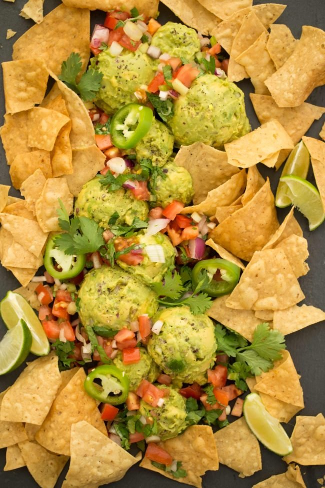Homemade Guacamole recipe uses just 5 ingredients and comes together in a snap