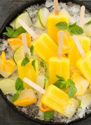 Pineapple Paletas