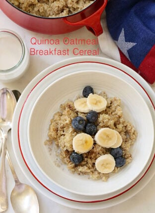 Quinoa and Oatmeal Cereal