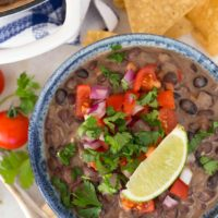 These Creamy Black Beans with Coconut Milk have an incredible combination of flavors