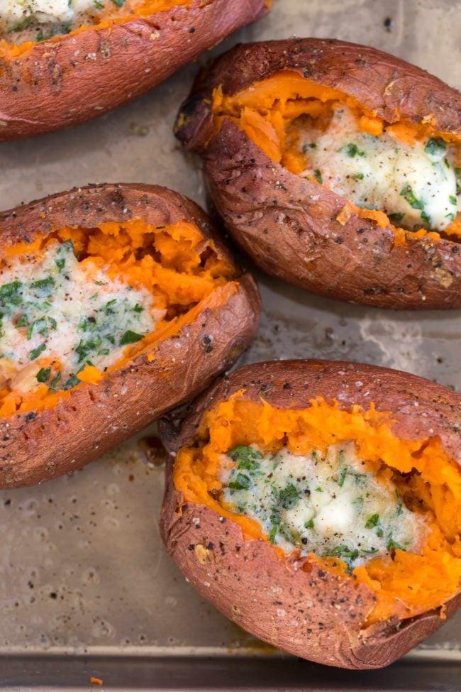 Baked Sweet Potato How To Bake Sweet Potatoes The Harvest Kitchen