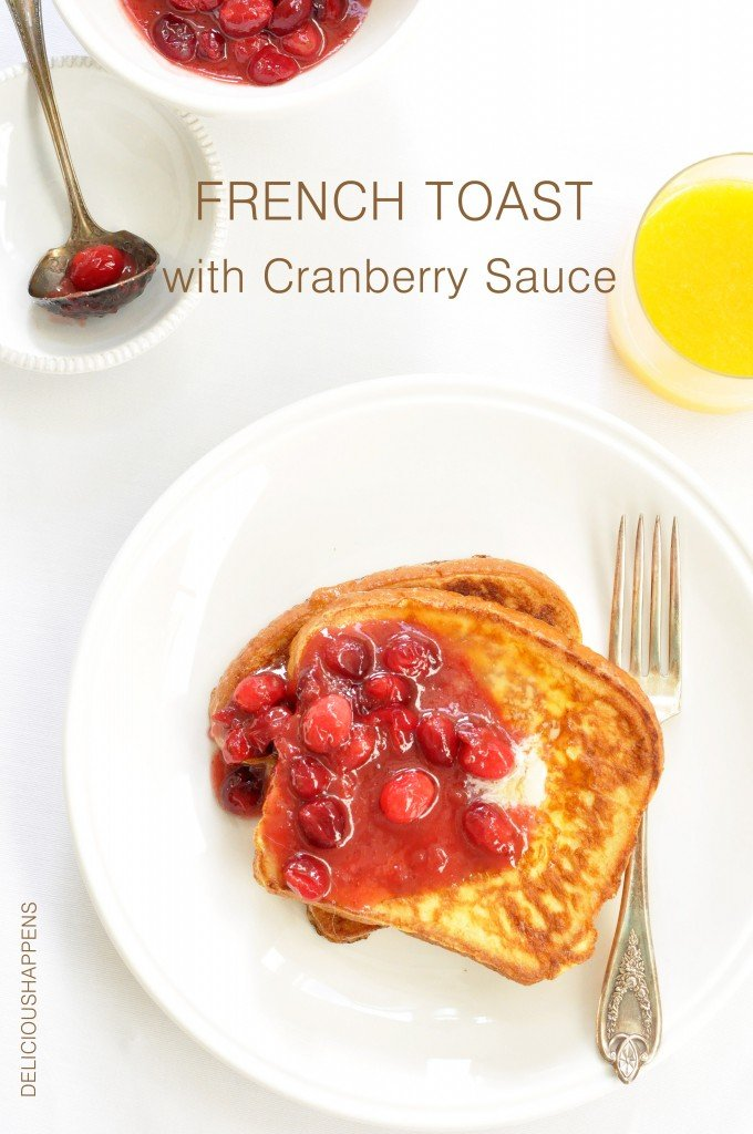 French-Toast-with-Cranberry-Sauce