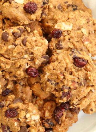 Gluten-Free Trail Mix Cookies