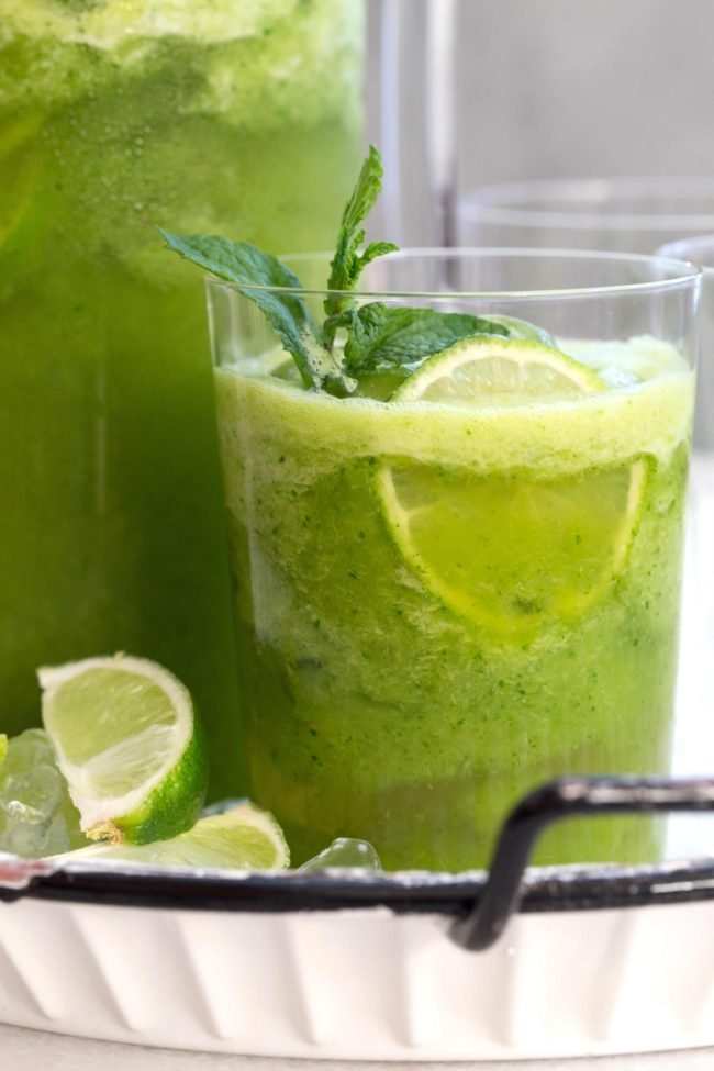 This refreshing Pineapple Detox Water is loaded with pineapple, ginger, baby kale and water. Drinking pineapple water provides detoxifying, immune-boosting and anti-inflammatory benefits.