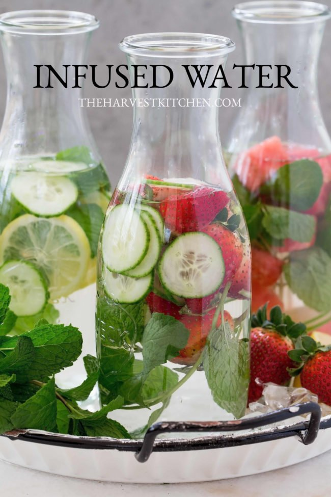Detox Infused Water is refreshing and delicious and provides a host of  nutritional benefits (antioxidants, vitamins & minerals) and keeps you hydrated.