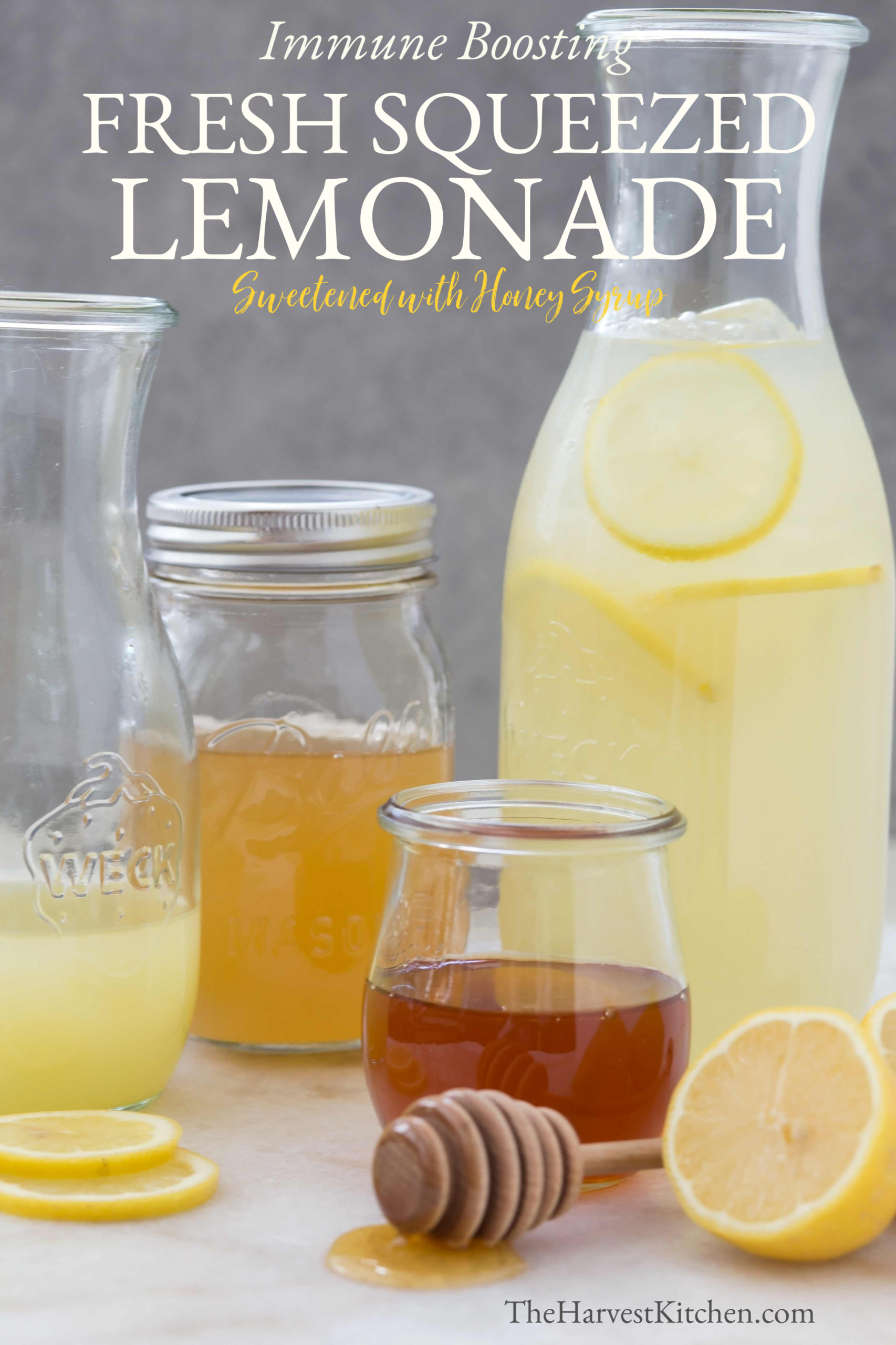 This Fresh Squeezed Lemonade screams of summer, and it's rich with antioxidant and anti-inflammatory benefits that will give a boost to your immune system