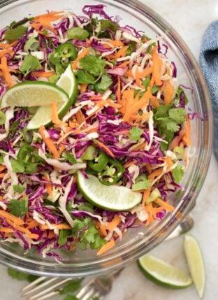 Healthy Coleslaw Recipe