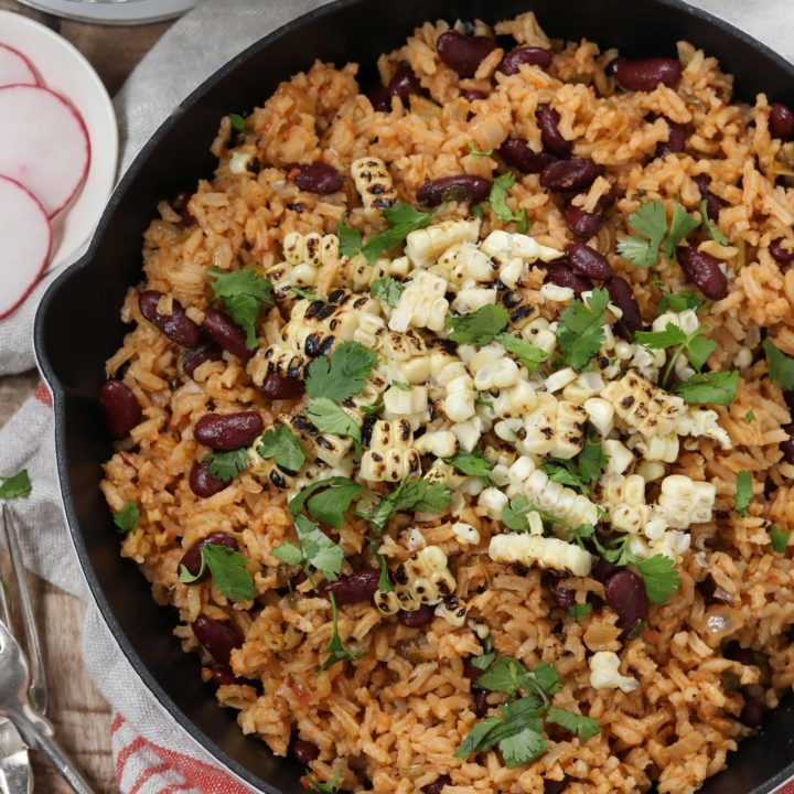 Spanish Rice And Beans The Harvest Kitchen