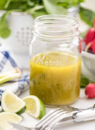Simple Lime Vinaigrette
