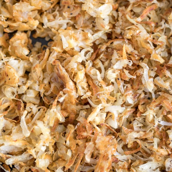 Homemade Hash Browns are a popular breakfast dish made with shredded potatoes cooked in a little oil and butter then lightly seasoned