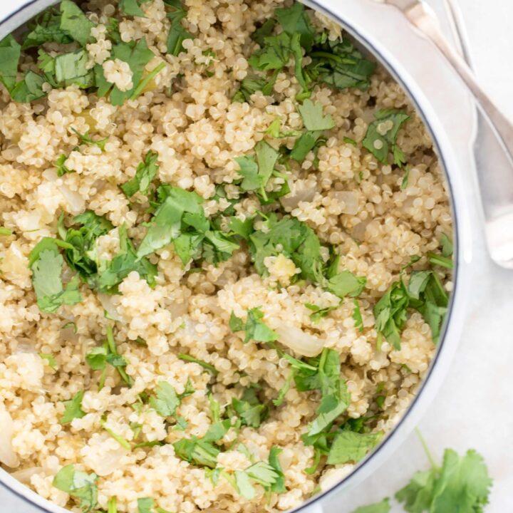 Salsa Verde Quinoa