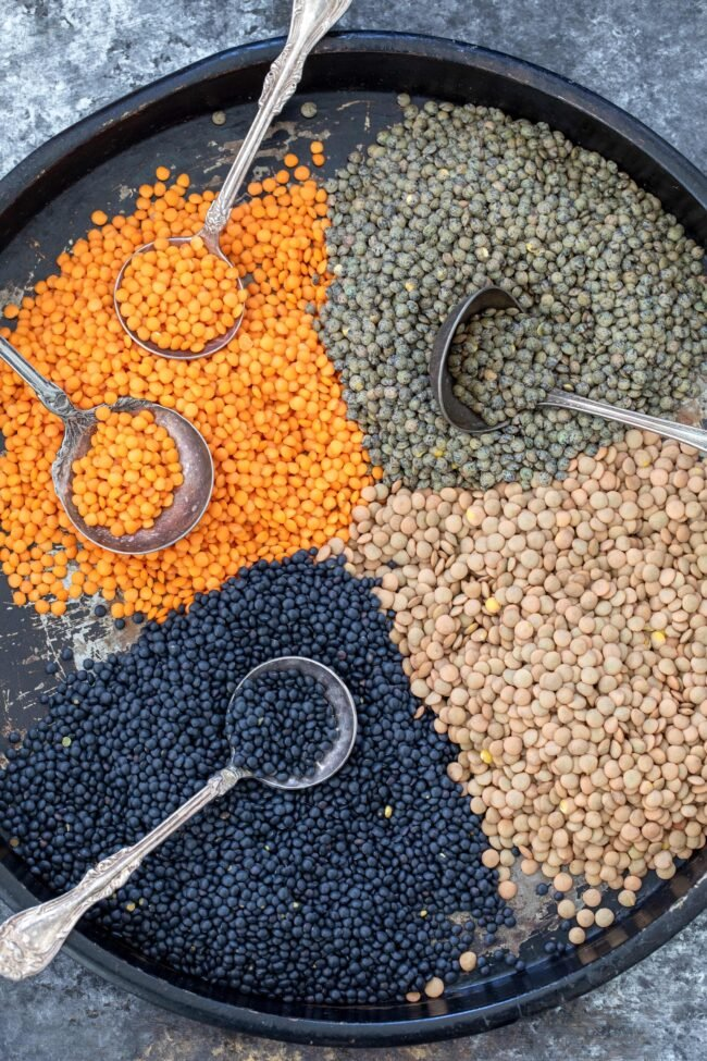 small legumes for plant based diet