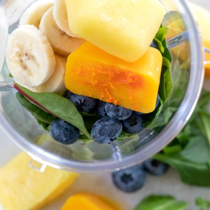 smoothie cubes for anti inflammatory diet plan