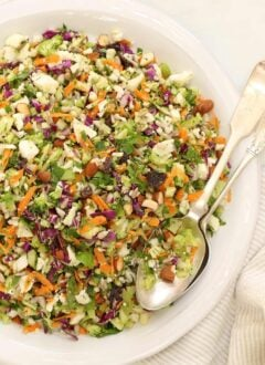 bow of chopped vegetables to detoxify your body