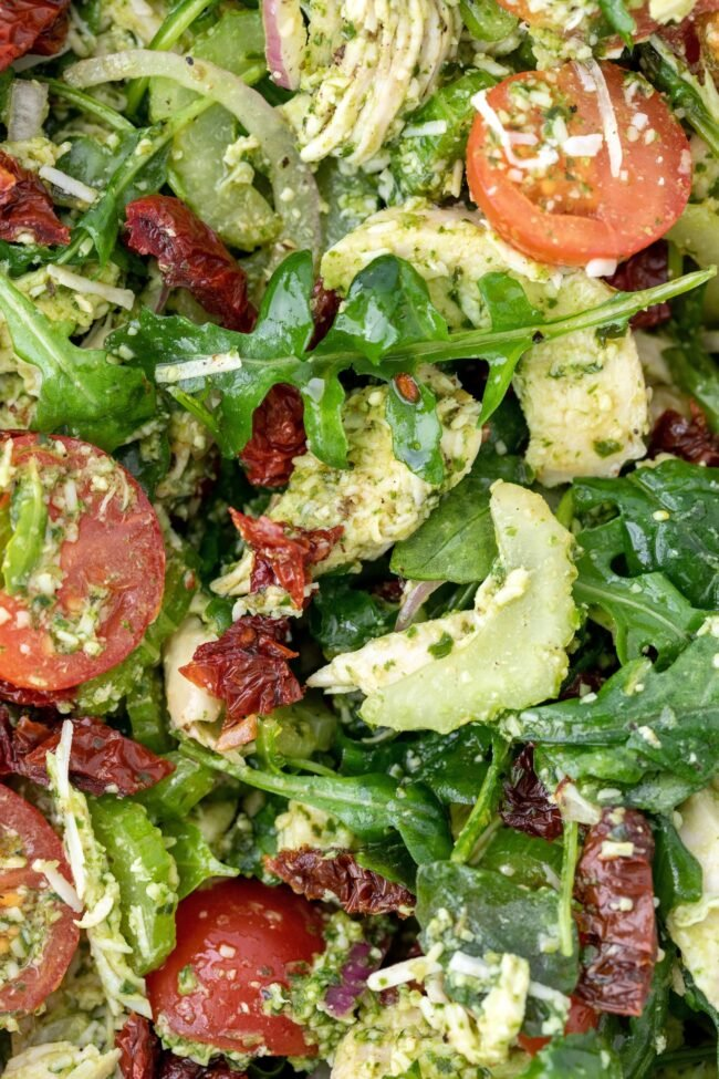 bowl of salad ideas for dinner
